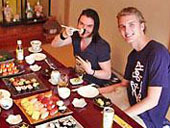Sushi Party Pic.